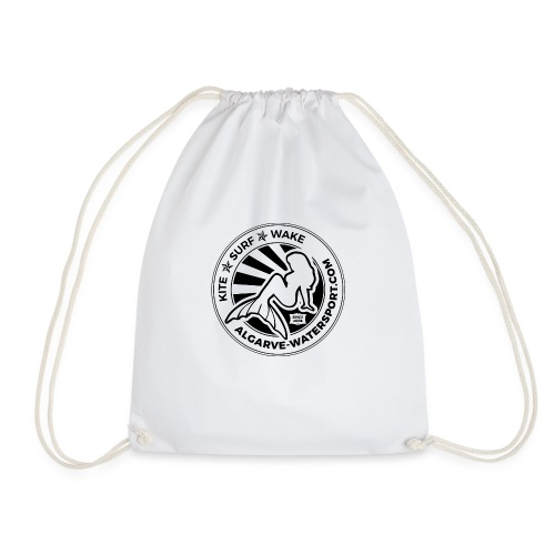 AWS mermaid round beams - Drawstring Bag