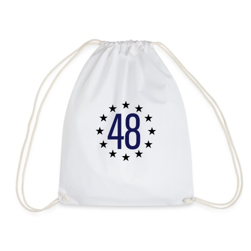 WE ARE THE 48% - Drawstring Bag