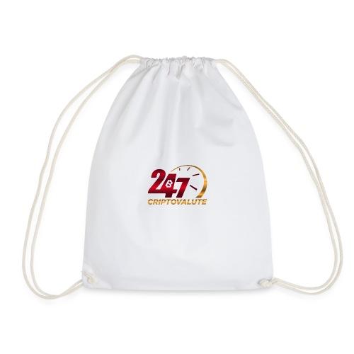 Criptovalute 247 Logo 1 - Sacca sportiva