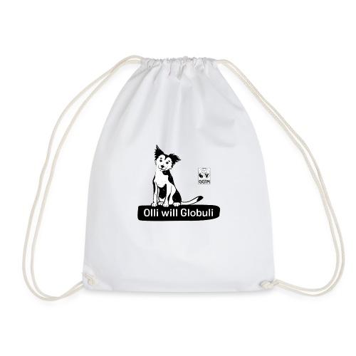 Hund Olli transparent - Turnbeutel