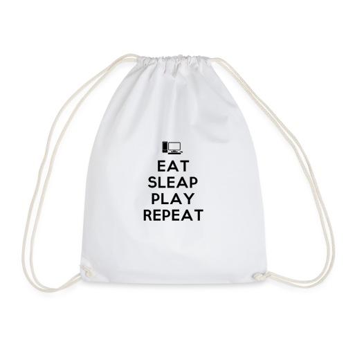 Eat Sleap Play Repeat - La routine des gamers - Sac de sport léger