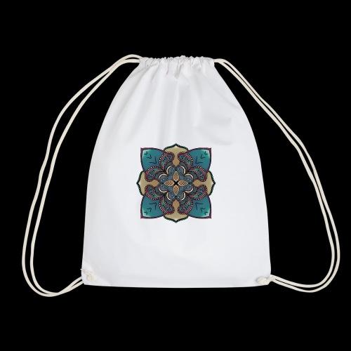 cute Mandala style design - Drawstring Bag