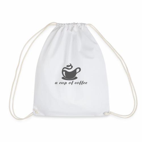 Eine Tasse Kaffee - Turnbeutel