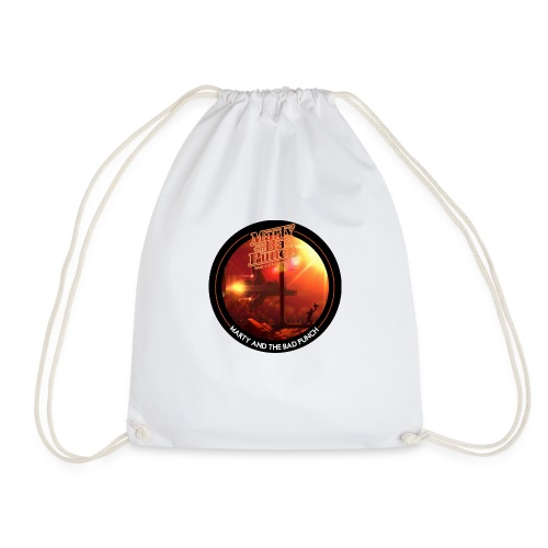 Round Cover / Marty And The Bad Punch - Drawstring Bag
