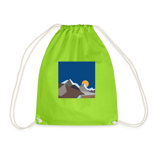 Himalayas - Drawstring Bag