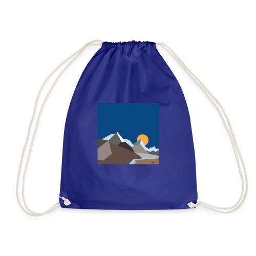 Himalayas - Drawstring Bag