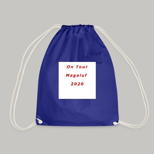 On Tour In Magaluf, 2020 - Printed T Shirt - Drawstring Bag