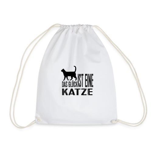 Katze Katzenliebe Cat Katzenglück Geschenkidee - Turnbeutel