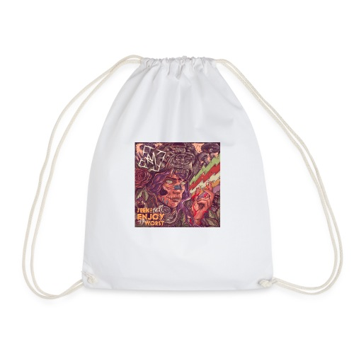 Across Yourself - Cover - Drawstring Bag
