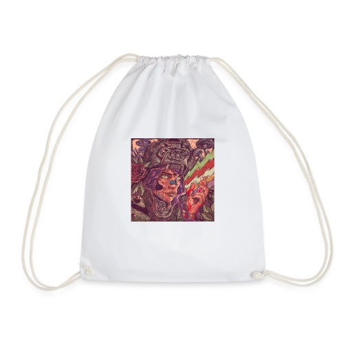 Across Yourself - Cover no title - Drawstring Bag