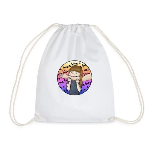 Imma bite u - Drawstring Bag