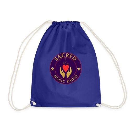 Spread Peace Through Music - Drawstring Bag