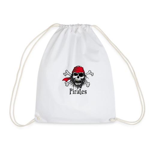Crâne de pirate - Pirate skull - Sac de sport léger