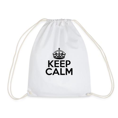 Keep calm - Sacca sportiva