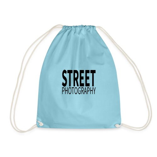Street photography Black - Sacca sportiva