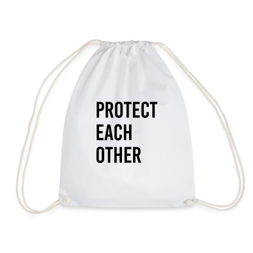 protect each other - Corona Mask - Turnbeutel