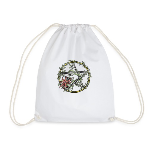 pentacle ivy - Drawstring Bag