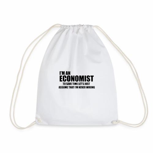 Black Iam An Economist - Turnbeutel