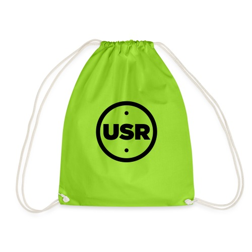 Unique Sessions Radio (USR) Logo - Drawstring Bag