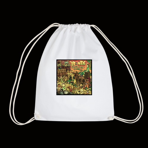 String Up My Sound Artwork - Drawstring Bag