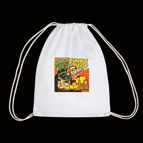 Common Sense Artwork - Drawstring Bag