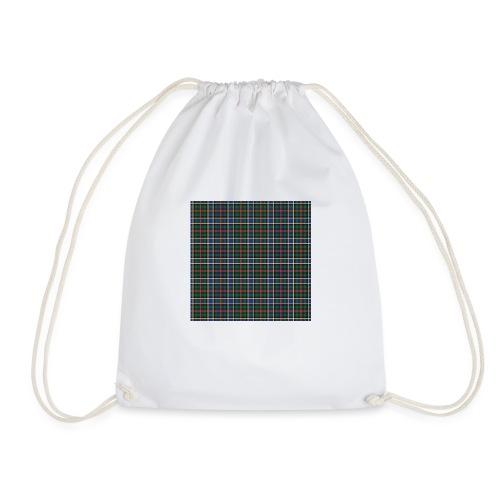 Ogilvy/Ogilvie Hunting Tartan - Drawstring Bag