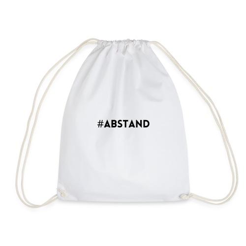 Corona T-Shirt ABSTAND - Turnbeutel