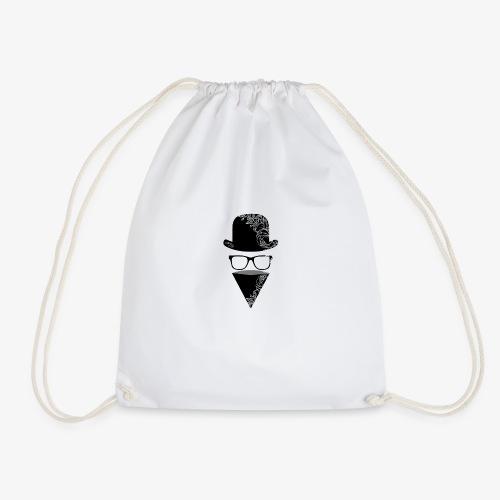 BRZY LOGO BLACK - Drawstring Bag