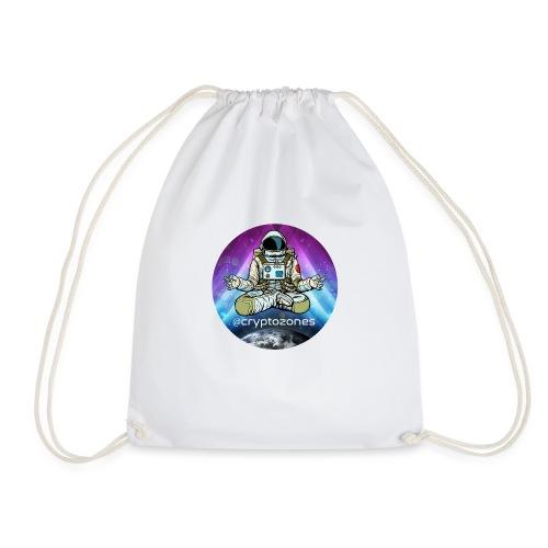 cryptozones official merchandise - Drawstring Bag