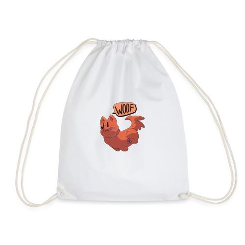 Speeding Corgi - Drawstring Bag