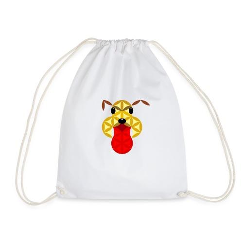 The Dog Of Life - Sacred Animals - Drawstring Bag