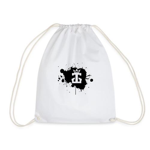 Jamie Gos Logo Splatter - Drawstring Bag