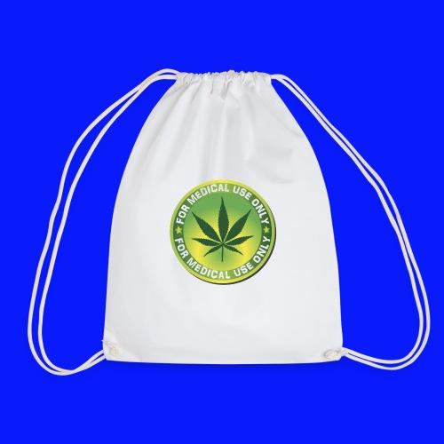 Medical Marijuana (Weed) - Drawstring Bag
