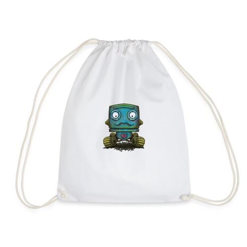 Robot op wielen - Drawstring Bag