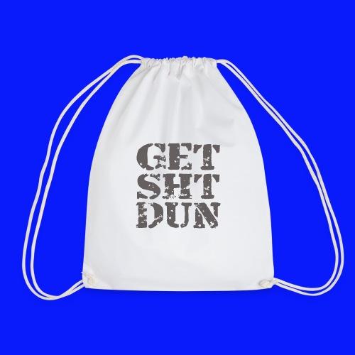 Get Shit Done - Drawstring Bag
