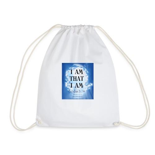I AM THAT I AM - Drawstring Bag