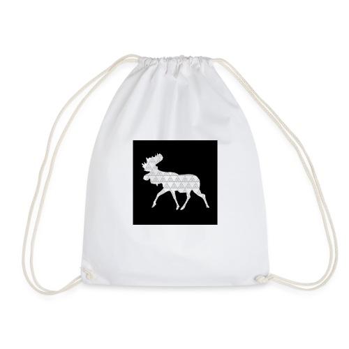 Moose Walk - Drawstring Bag