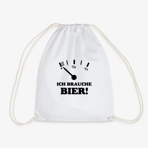 Bier Tankanzeige - Turnbeutel