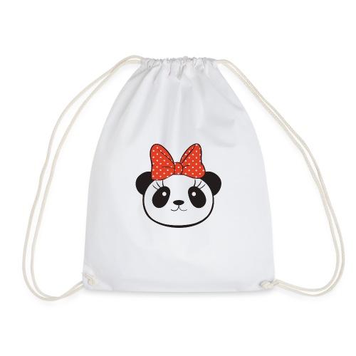 panda no8 - Drawstring Bag