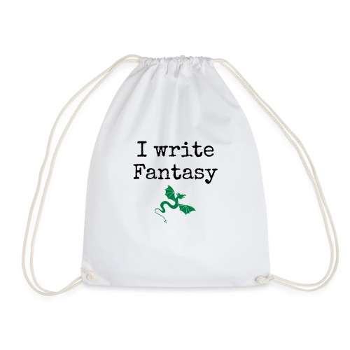 i_write_fantasy - Drawstring Bag