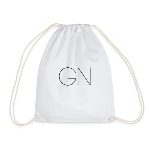 Långärmad tröja GN slim text - Gymnastikpåse