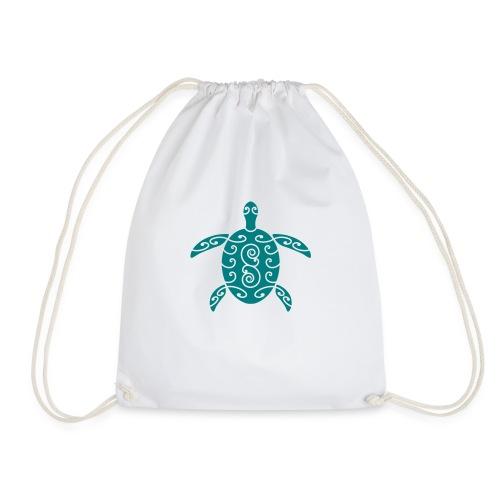 Schildkröte mit Muster 1 - Turnbeutel