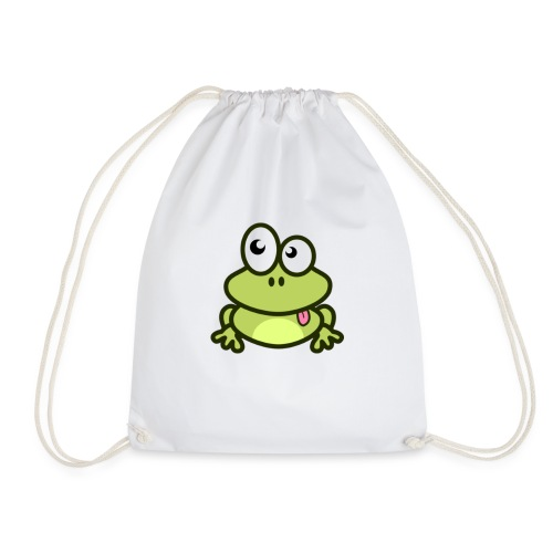 epic frog - Drawstring Bag