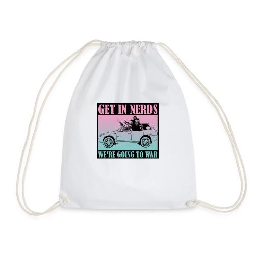 Get in Nerds! - Drawstring Bag