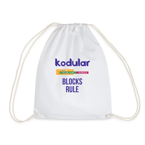 Blocks Rule - Drawstring Bag