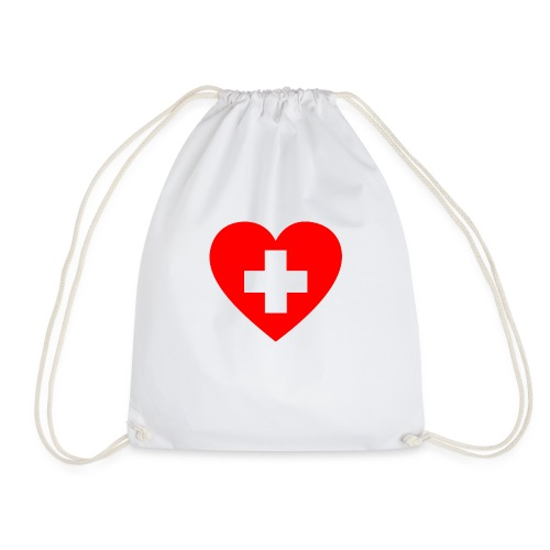 first aid - Drawstring Bag
