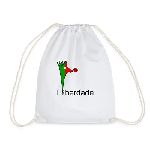 Galoloco - Liberdaded - 25 Abril - Drawstring Bag