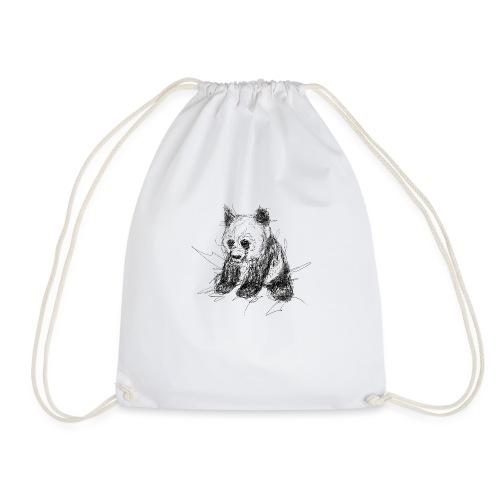 Scribblepanda - Drawstring Bag