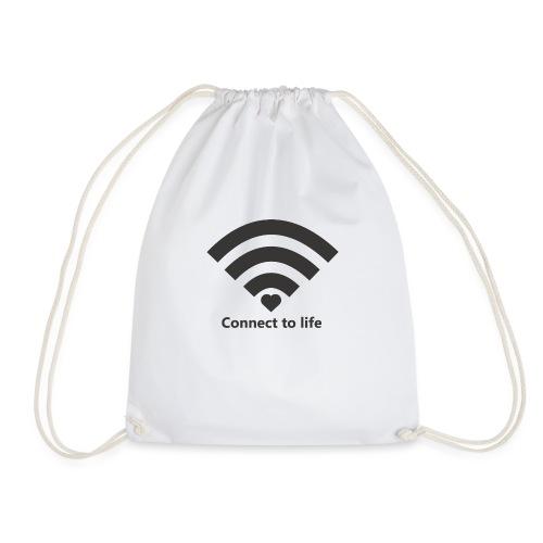 Conect_to_life - Mochila saco