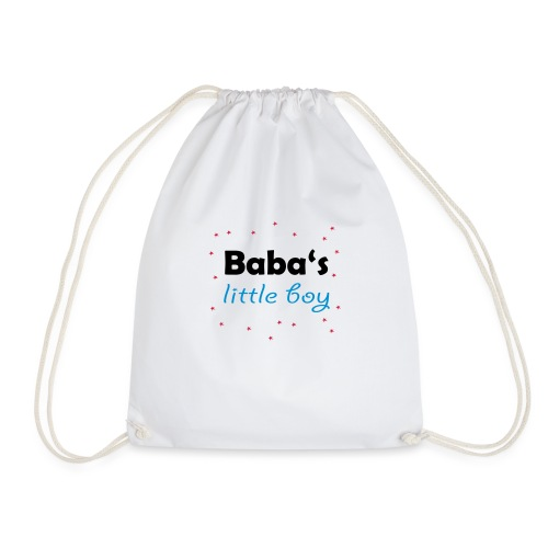 Baba's litte boy Babybody - Turnbeutel